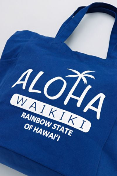WAIKIKI Bahu & Tote Bag 2WAY-Bags & Purses-Ametsuchi