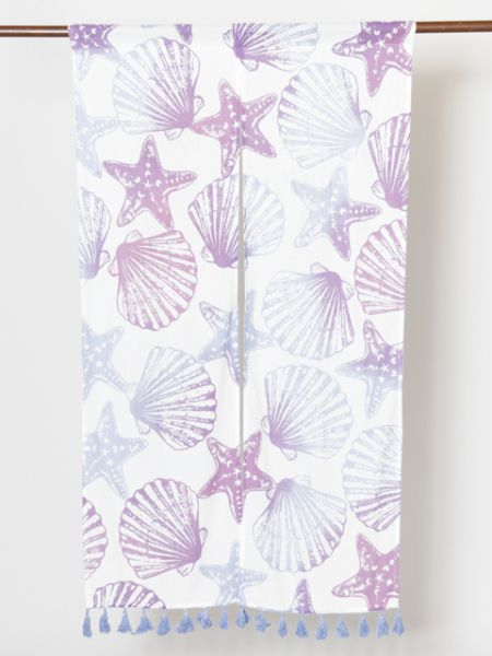 Shell & Starfish NOREN Curtain-Home Decor-Ametsuchi