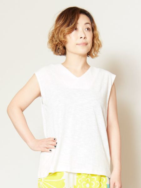 Japanese-colored underwear tank top L-Tanks-Ametsuchi