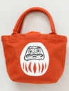 KINCHAKU Mini Tote Bag - Daruma