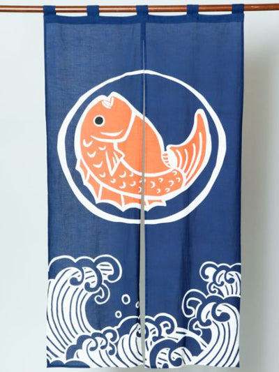 Japanese Auspicious Pattern NOREN Curtain-Home Decor-Ametsuchi