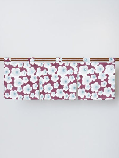 Japanische Blume Short NOREN Blind Curtain-Home Decor-Ametsuchi