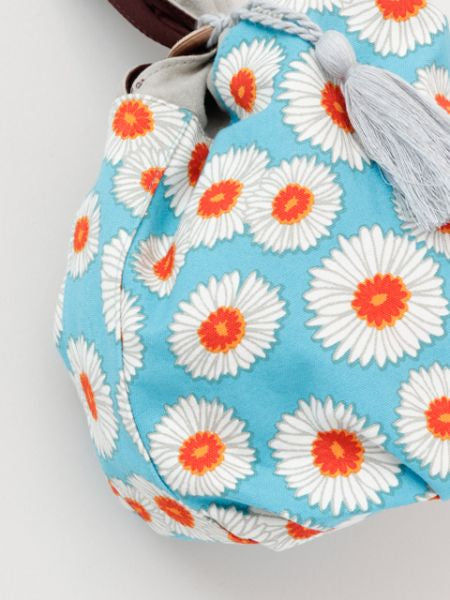 Bi-color Round Bag-Bags & Purses-Ametsuchi