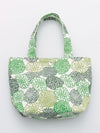 HANPU Canvas Cotton Floral Mini Tote Bag-Bags & Purses-Ametsuchi