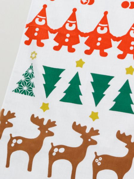 Injection hand towel Christmas -Others-Ametsuchi