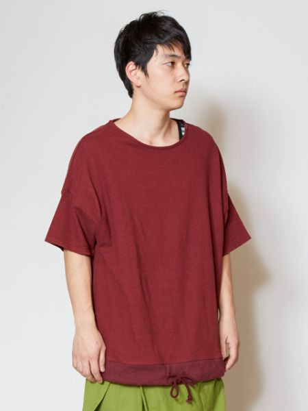 Plain Oversized Top-Ametsuchi