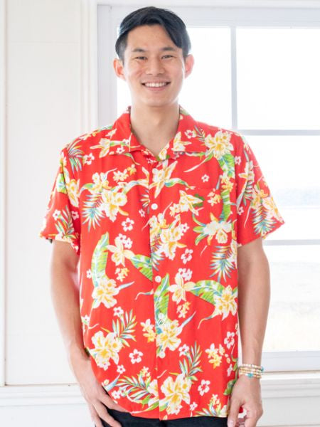 Men's Hawaiian Shirt-Shirts-Ametsuchi