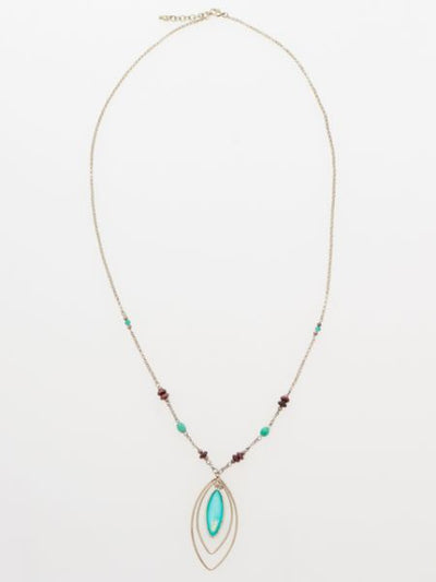 Starry Long Necklace -Necklaces-Ametsuchi