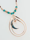 Aura Crescent Moon Necklace-Ametsuchi
