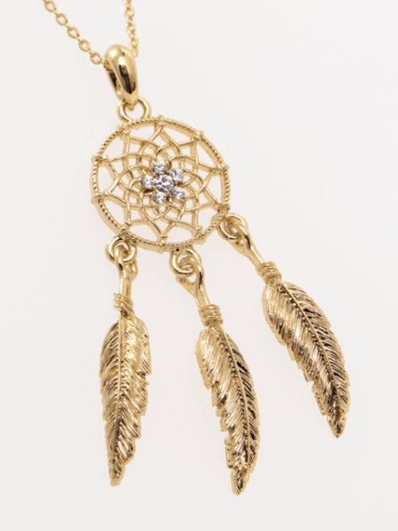 Collier Dreamcatcher en métal