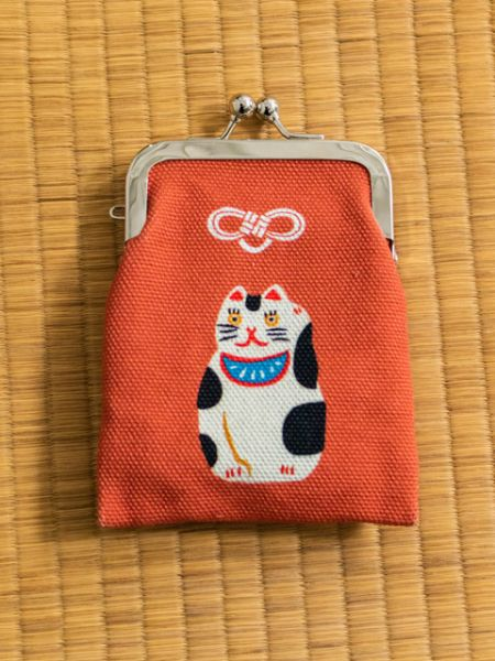 Traditional Craft Lucky Charm GAMAGUCHI Purse-Bags & Purses-Ametsuchi