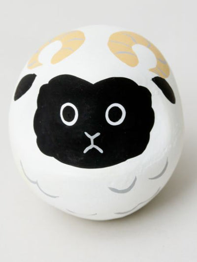 Zodiac Bean Daruma Not-Home Décor-Ametsuchi