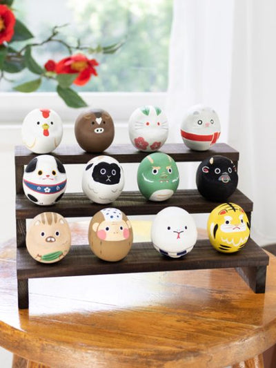 Zodiac Bean Darumako-Home Decor-Ametsuchi