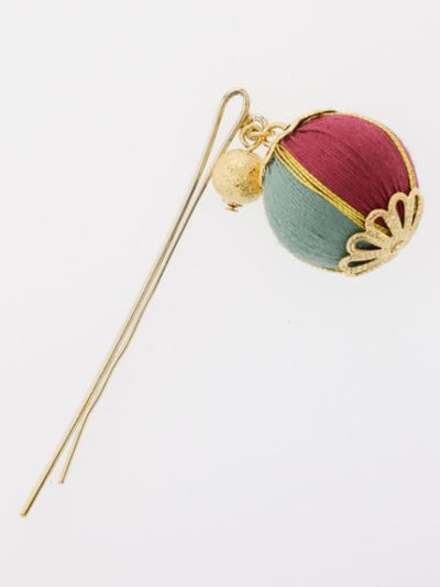 Laminated Temari Hairpin -Hair Accessories-Ametsuchi