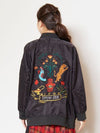 Folklore Embroidered Back MA-1 Style Jacket-Ametsuchi