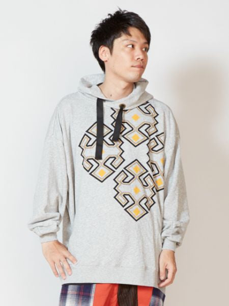 Kilim Pattern Men's Sweat Hoodie Top