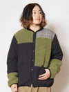 Glen Plaid Patchwork Quilt Jacket-Ametsuchi