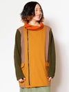 Knit Patchwork Men's Jacket-Ametsuchi