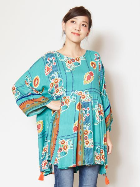 Mexican Style Mixed Tunic