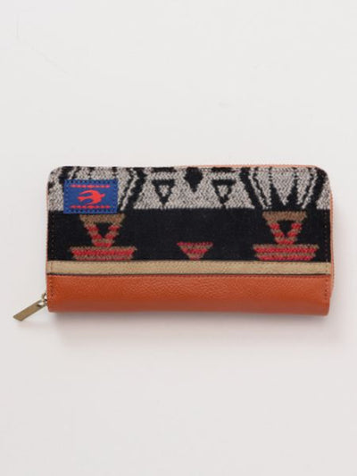 Native American Pattern Wallet-Bags & Purses-Ametsuchi
