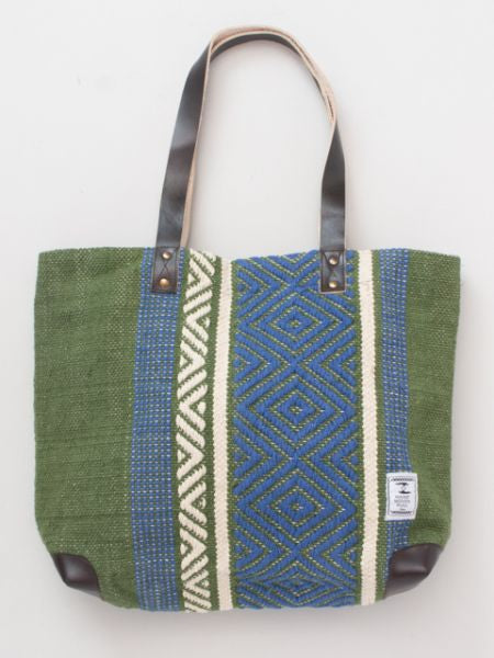 Hand Woven Cotton Tote Bag