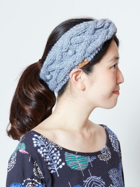 Hand Knitted Fluffy Hair Band