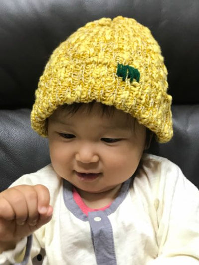 Nepal Made Kid's Beanie with Stitch Charm-Accessories-Ametsuchi