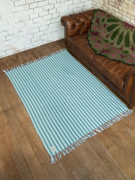 Woven Cotton Rug Multi Cloth-Ametsuchi