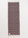 Handwoven Geometric Pattern Table Runner-Ametsuchi