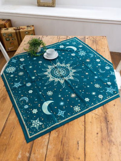 Starry Night Tablecloth-Kitchen Goods-Ametsuchi
