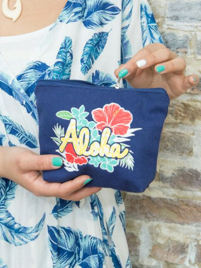 Mahalo Pouch -Bags & Purses-Ametsuchi
