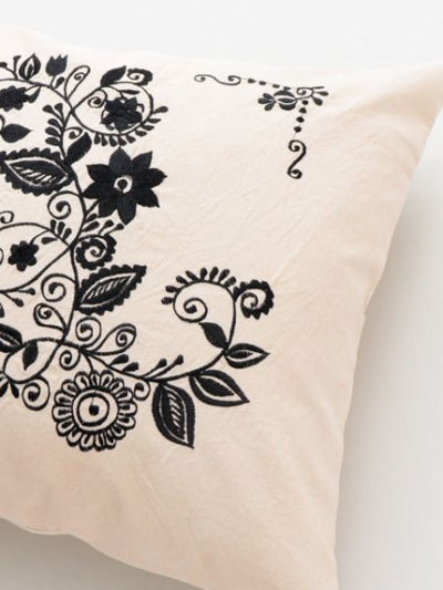 Transylvania Embroidery Inspired Cushion Cover-Cushion Covers-Ametsuchi