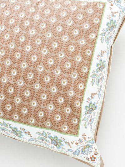 Provence Flower Pattern Pillow Cover-Ametsuchi