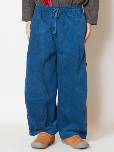 Brushed Cotton Wide Leg Pants-Pants & Shorts-Ametsuchi