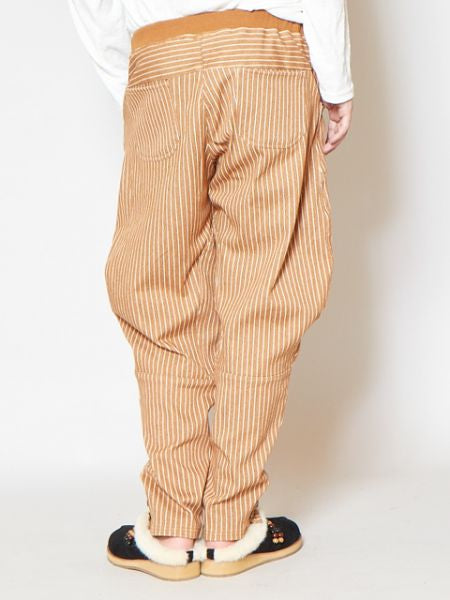 Striped Stretchable Pants