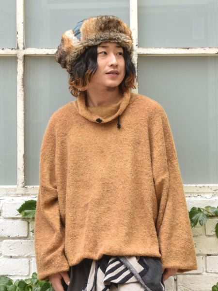 Men's Turtleneck Pullover-Tops-Ametsuchi
