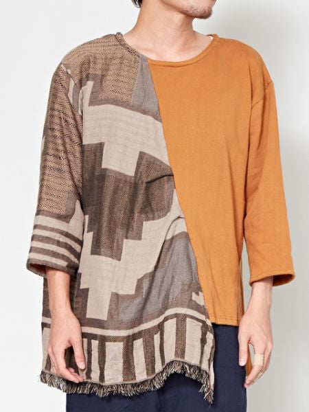 Asymmetric Sweat Top-Tops-Ametsuchi