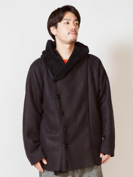 Mouton Style Men's Coat-Ametsuchi