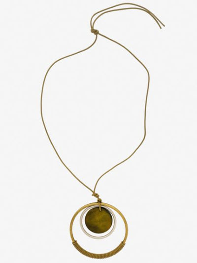 Ring Ring Necklace -Necklaces-Ametsuchi