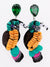 Tropical Island Bird Earrings