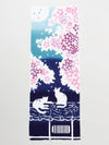 TENUGUI Towel-Sakura Cat-Home Accessories-Ametsuchi
