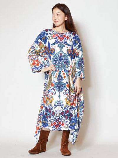 Oriental Forest One Piece Dress-Ametsuchi