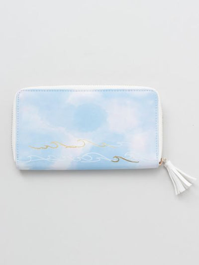Hawaiian Wave Long Wallet-Bags & Purses-Ametsuchi