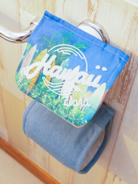 Hawaiian Toilet Paper Holder-Ametsuchi