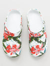 Botanical Pattern EVA Clog Sandals Sabo Men's Size -Shoes-Ametsuchi