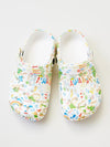 Corak Hawaii EVA Clog Sandals Sabo Ladies Size -Shoes-Ametsuchi