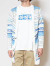 Ocean Knitted Men's Cardigan-Ametsuchi