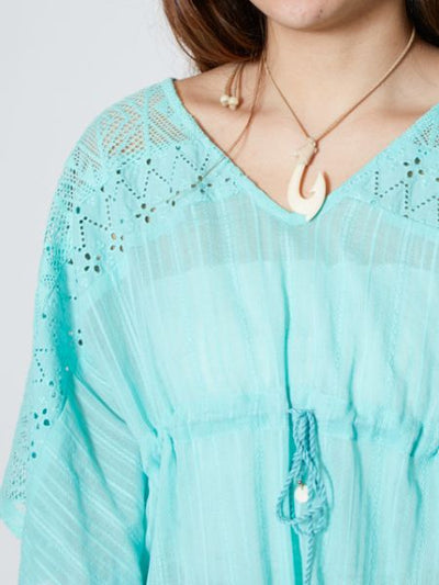 Lace & Cotton Dobby Butterfly Tops-Tops-Ametsuchi