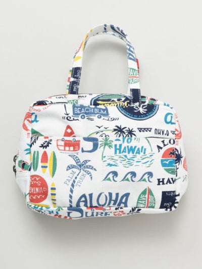 Hawaiian Motif Collage Pouch-Bags & Purses-Ametsuchi