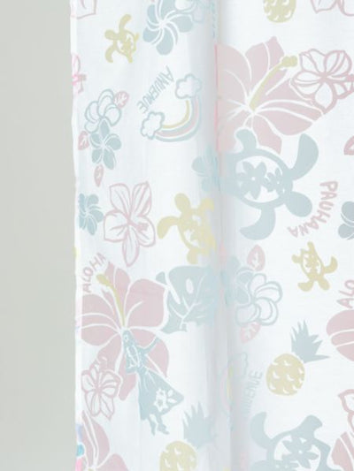 Hawaiian Moeif Sheer Curtain-Home Dekor-Ametsuchi